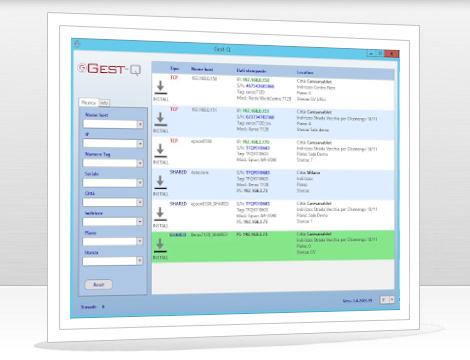Gest-Q per la distribuzione e configurazione delle code di stampa senza print server
